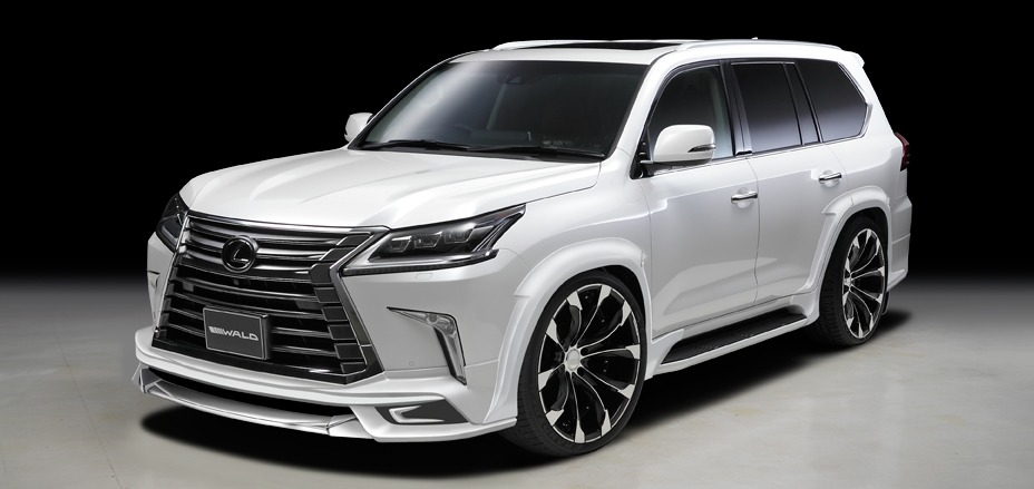 2016 wald lx570 front