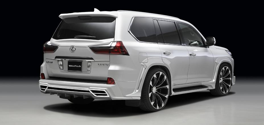 2016 wald lx570 rear