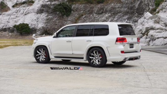 wald toyota land cruiser over fender wide body sports line 2016 2017 2018