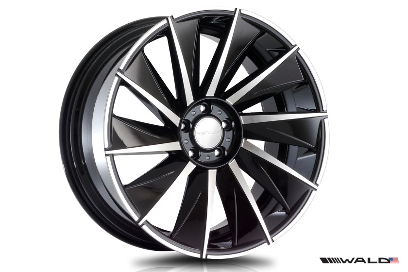 wald mercedes benz c217 w217 s class coupe s550 s63 s65 black bison body kit b11c wheel rim 2015 2016 2017
