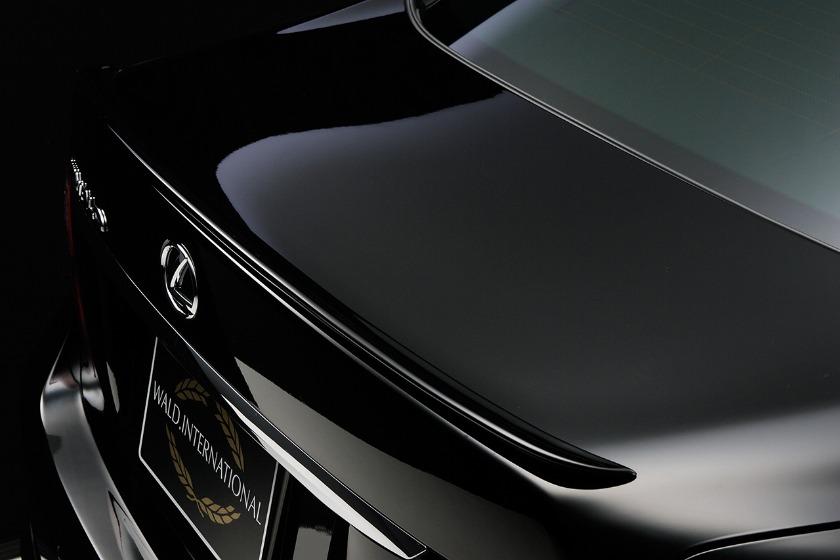 wald lexus ls460 ls460l ls600hl executive trunk wing lip spoiler 2010 2011 2012