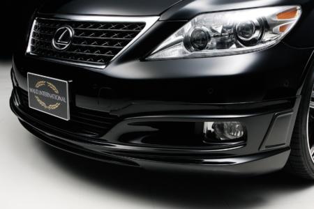 wald lexus ls460 ls460l ls600hl executive line front apron lip 2010 2011 2012