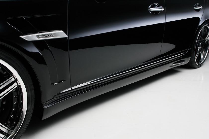 wald lexus ls460 ls460l ls600hl executive line side skirt 2010 2011 2012