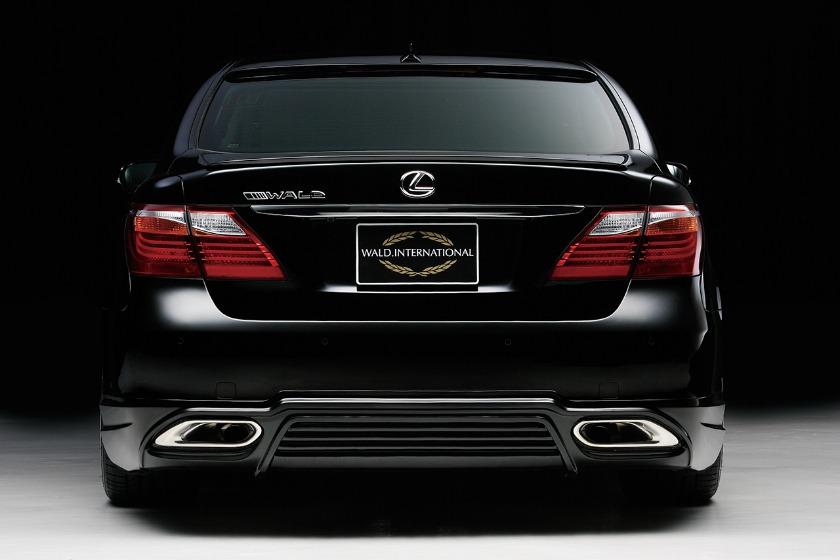 wald lexus ls460 ls460l ls600hl executive line rear apron lip 2010 2011 2012