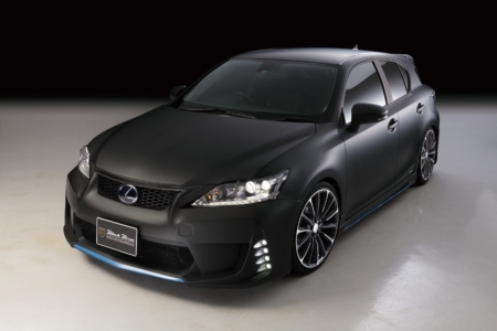 wald lexus ct200h ct ct200 black bison body kit front bumper led drl side skirt p21c wheel rim 2011 2012 2013
