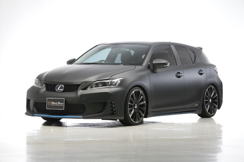 wald lexus ct200h ct ct200 black bison body kit front p21c wheel rim 2011 2012 2013