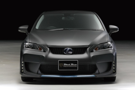 wald lexus ct200h ct ct200 black bison body kit front bumper led drl light lamp 2011 2012 2013