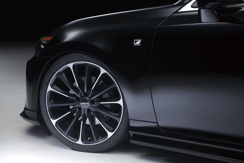 wald lexus gs350 f sport fsport executive line body kit p21c wheel rim 2013 2014 2015