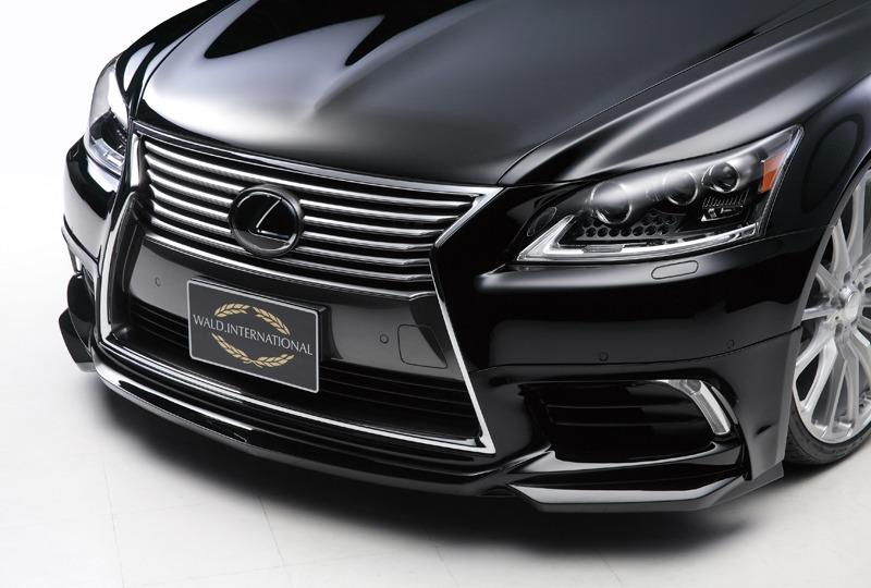 wald lexus ls ls460 ls460l ls600 ls600hl executive line front lip apron 2013 2014 2015 2016 2017