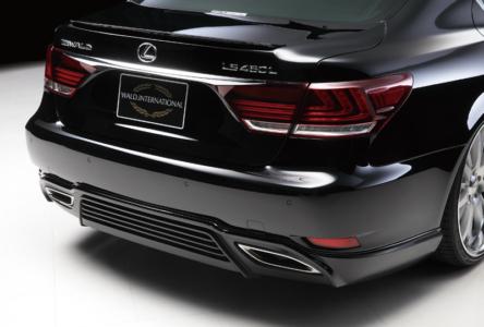 wald lexus ls ls460 ls460l ls600 ls600hl executive line rear lip apron 2013 2014 2015 2016 2017