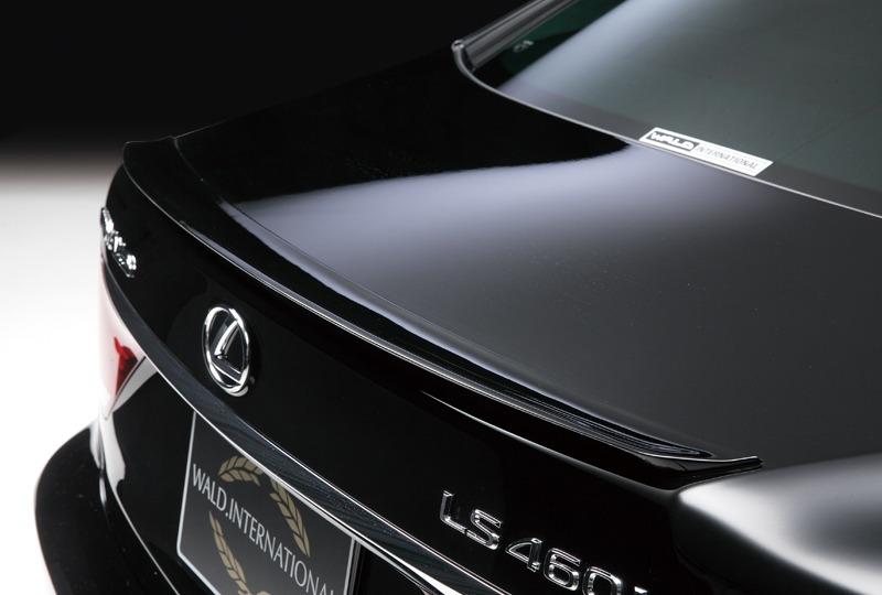 wald lexus ls ls460 ls460l ls600 ls600hl f sport executive line trunk lip wing spoiler 2013 2014 2015 2016 2017