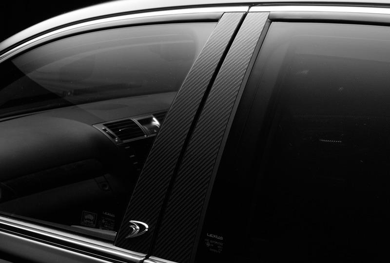wald lexus ls ls460 ls460l ls600 ls600hl f sport executive line carbon pillar panel 2013 2014 2015 2016 2017