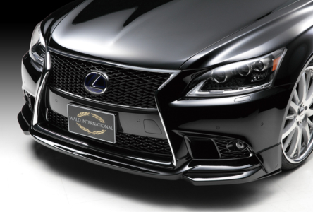 wald lexus ls ls460 ls460l ls600 ls600hl f sport executive line front lip apron 2013 2014 2015 2016 2017