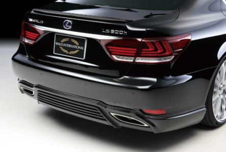 wald lexus ls ls460 ls460l ls600 ls600hl  f sport executive line rear lip apron 2013 2014 2015 2016 2017