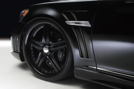 wald lexus ls460 ls460l ls600hl black bison sport fender set 2010 2011 2012