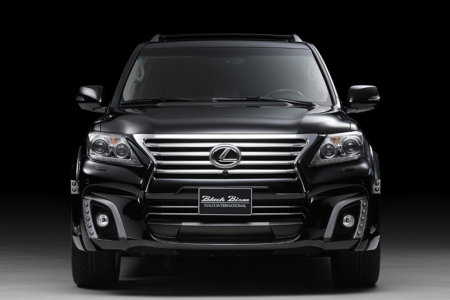 wald lexus lx570 black bison body kit front 2013 2014 2015