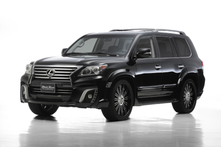 wald lexus lx570 black bison body kit 2013 2014 2015