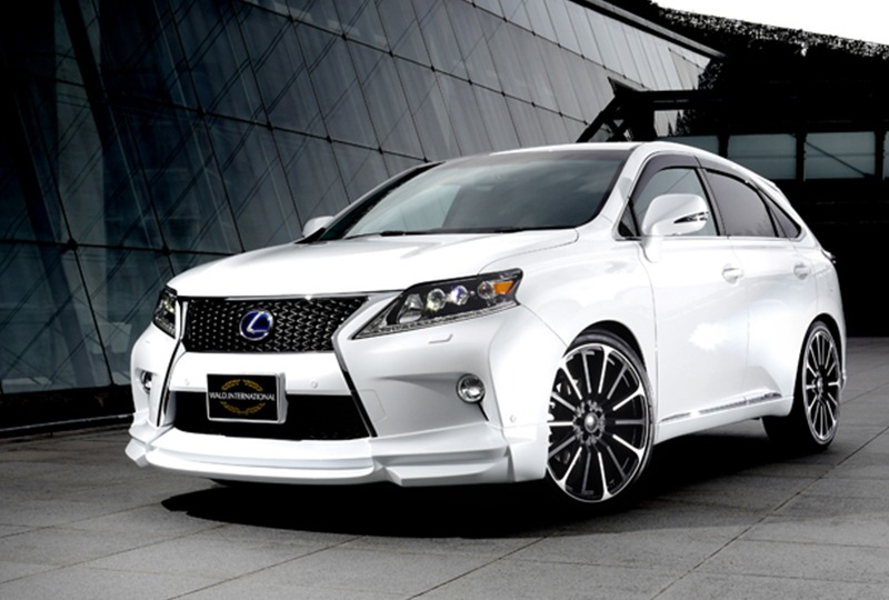 wald lexus rx350 f sport fsport executive line body kit front white p21 rim wheel 2013 2014 2015