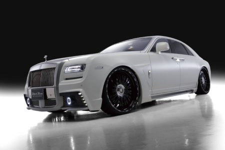 wald rolls royce ghost black bison edition body kit front angle 2010 2011 2012 2013 2014