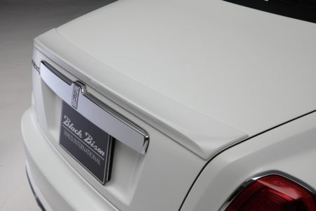wald rolls royce ghost black bison edition trunk spoiler 2010 2011 2012 2013 2014