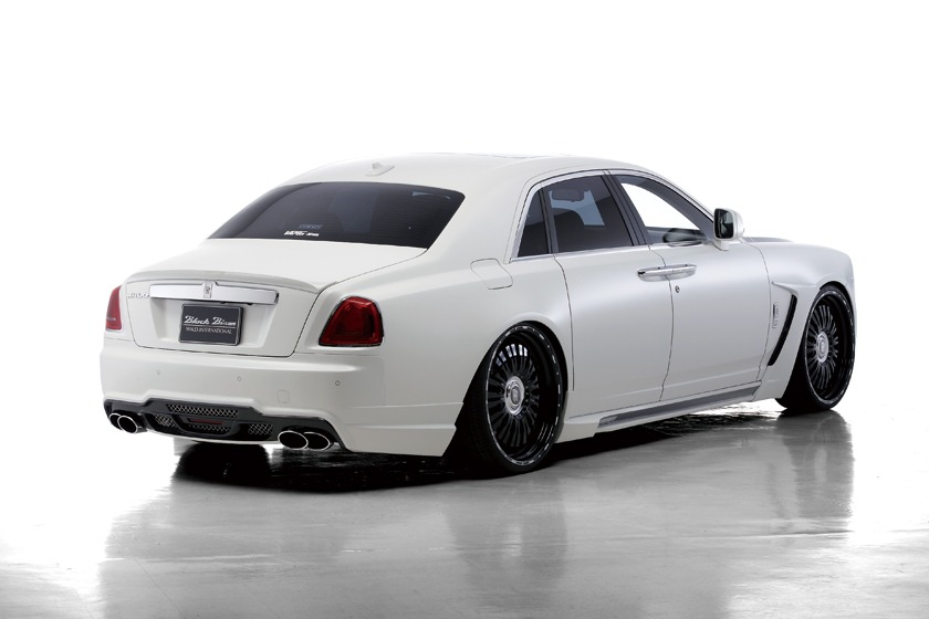 wald rolls royce ghost black bison edition body kit 2010 2011 2012 2013 2014