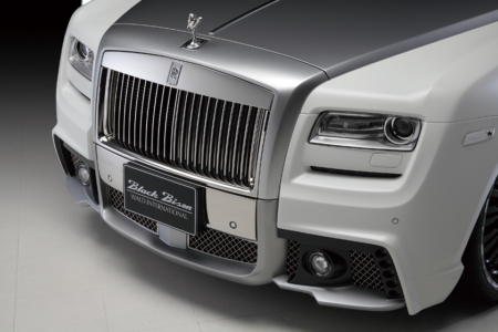 wald rolls royce ghost black bison edition front bumper angle 2010 2011 2012 2013 2014