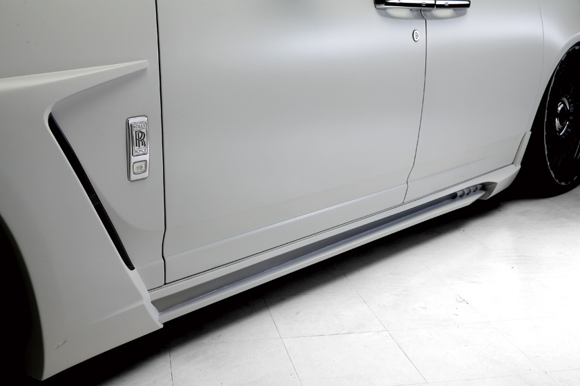 wald rolls royce ghost black bison edition side skirt side panel 2010 2011 2012 2013 2014