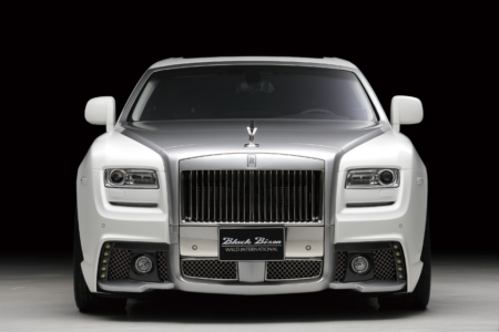wald rolls royce ghost black bison edition front bumper 2010 2011 2012 2013 2014