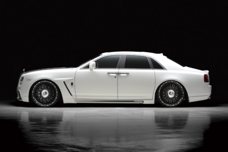 wald rolls royce ghost black bison edition body kit side 2010 2011 2012 2013 2014