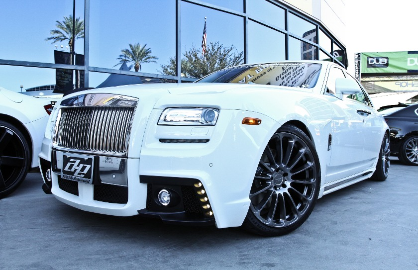 WALD Rolls Royce Ghost Debuts at the 2012 Sema Show in Las Vegas