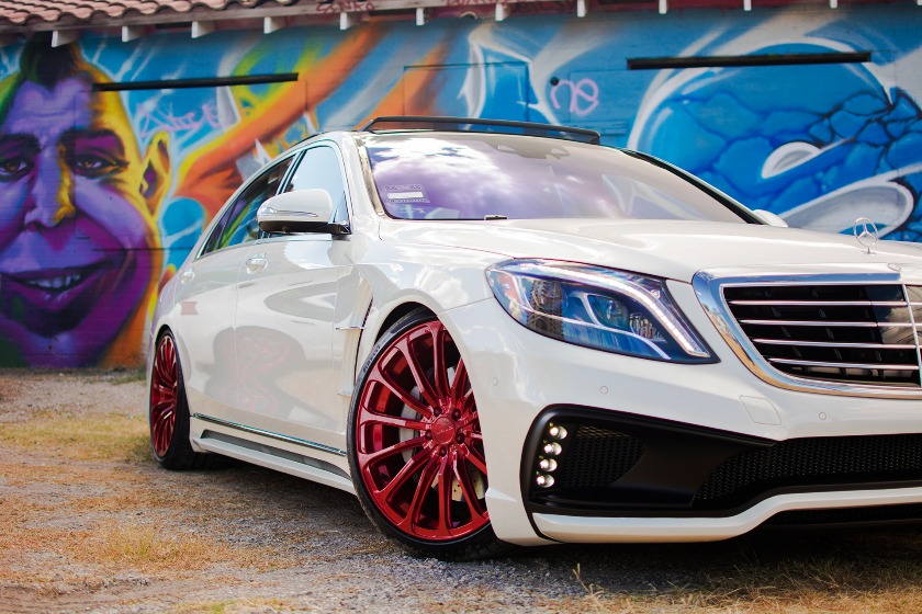 wald mercedes benz w222 s550 s63 s65 black bison body kit front 2014 2015 2016 2017