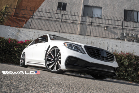wald mercedes benz w222 s550 s63 s65 black bison body kit front b11c 2014 2015 2016 2017