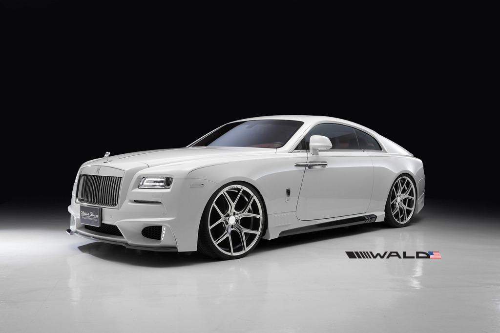 wald rolls royce wraith black bison edition body kit 2014 2015 2016
