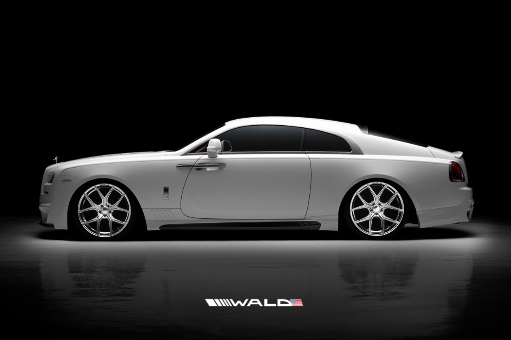 wald rolls royce wraith black bison edition side view 2014 2015 2016