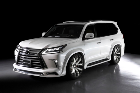wald lexus lx570 sports line body kit 2016 2017 2018
