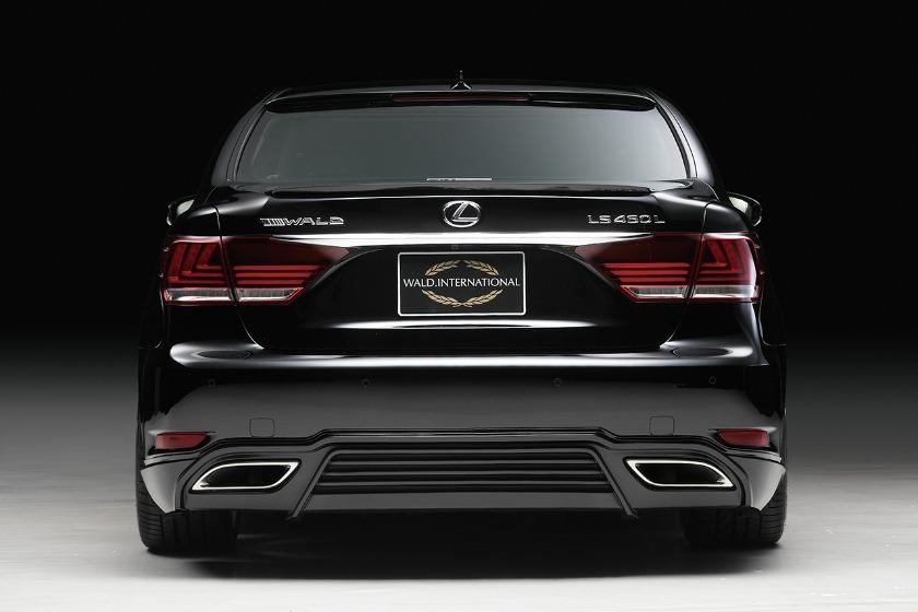 wald lexus ls ls460 ls460l ls600 ls600hl executive line rear apron lip 2013 2014 2015 2016 2017