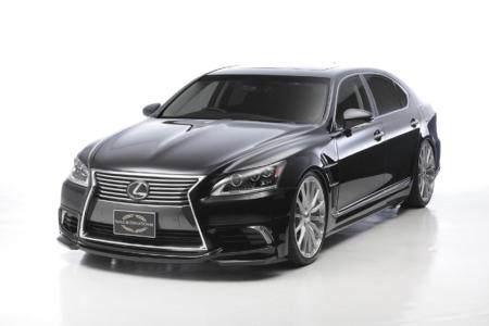 wald lexus ls ls460 ls460l ls600 ls600hl executive line body kit front angle 2013 2014 2015 2016 2017