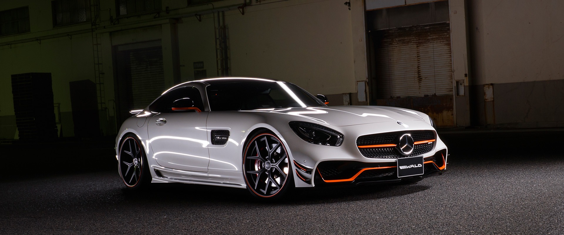 wald amg gt home page banner