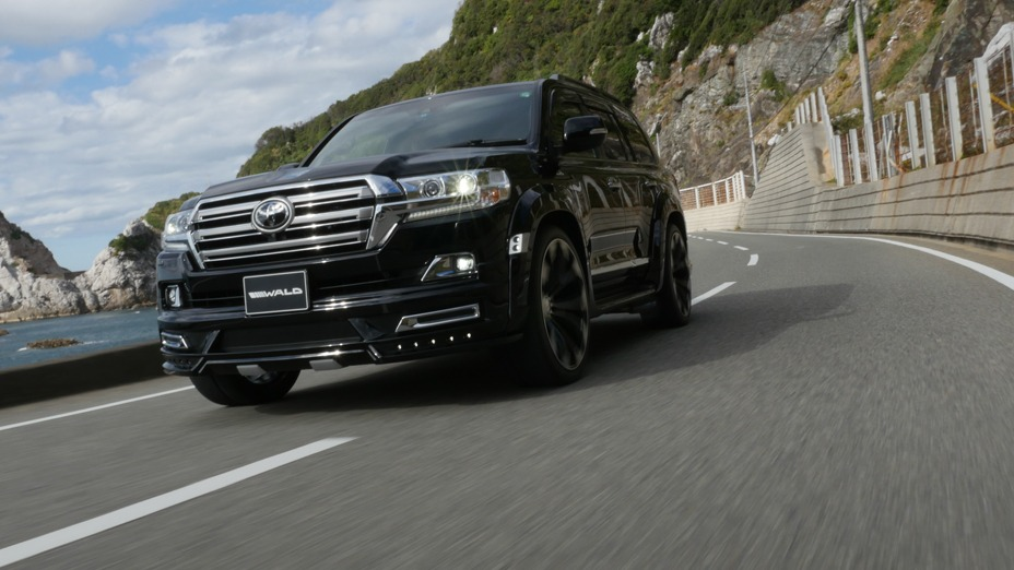 WALD 2016 Land Cruiser to debut at the 2016 Tokyo Auto Salon