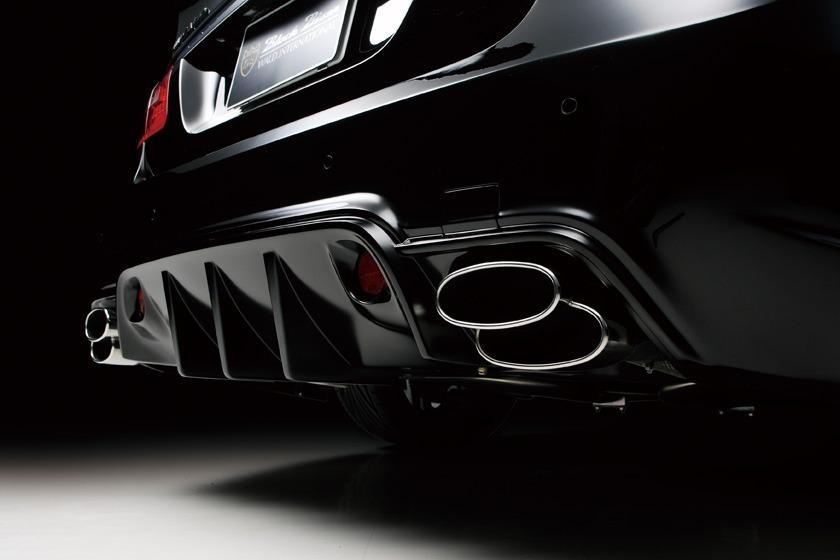 wald mercedes benz W212 e350 e550 e63 black bison body kit rear bumper diffuser sport exhaust exhaust tips 2010 2011 2012 2013