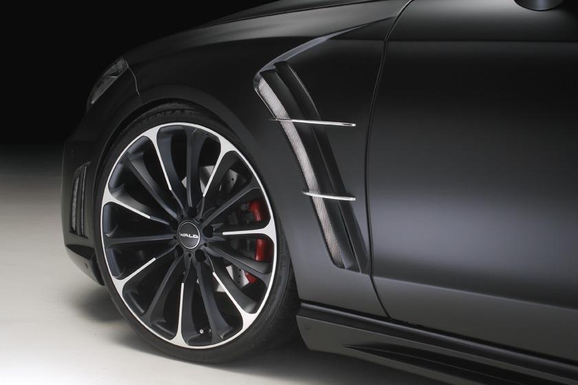 wald mercedes benz c218 w218 cls cls550 cls63 black bison body kit front sport fender set p21c wheel rim 2012 2013 2014