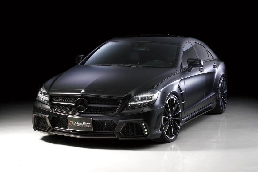 The Wraith Car >> MERCEDES BENZ C218 WALD CLS CLASS BLACK BISON 2012 – 2014 ...