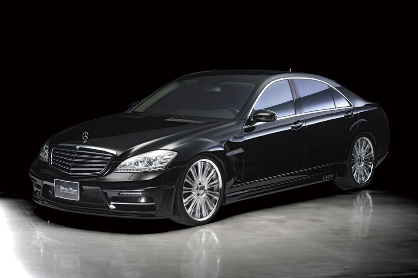 wald mercedes benz mbz w221 s550 s63 s65 black bison body kit front 2010 2011 2012 2013