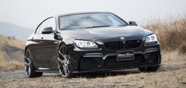 wald bmw 6 series gran coupe black bison body kit front angle 2011 2012 2013 2014 2015 2016 2017 2018