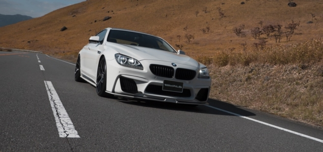 wald bmw 6 series gran coupe body kit black bison front bumper white 2011 2012 2013 2014 2015 2016 2017 2018
