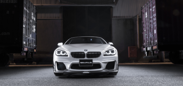 wald bmw 6 series coupe convertible 640i 650i black bison body kit front bumper 2011 2012 2013 2014 2015 2016