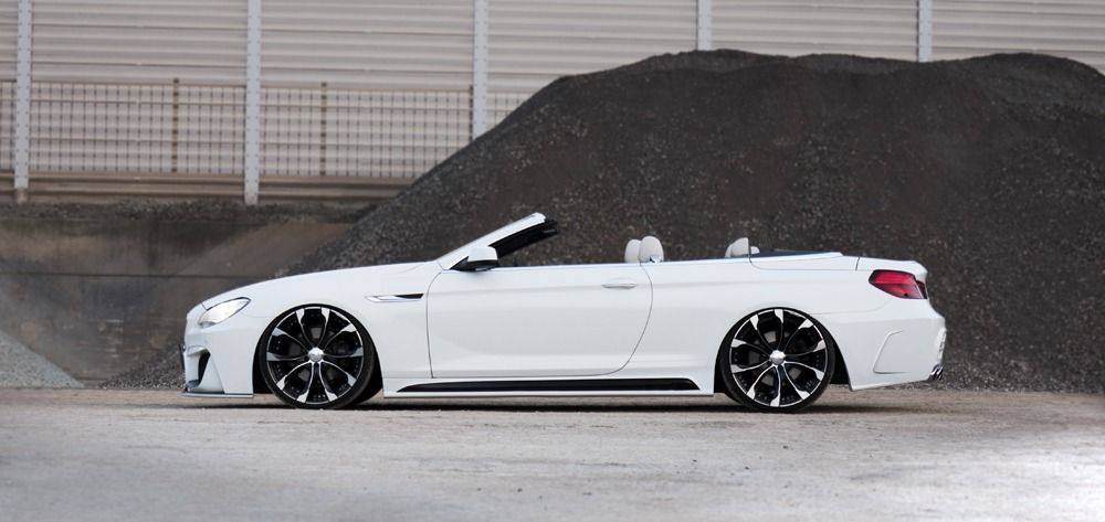 wald bmw 6 series convertible 640i 650i black bison body kit side skirt j11c wheel 2011 2012 2013 2014 2015 2016