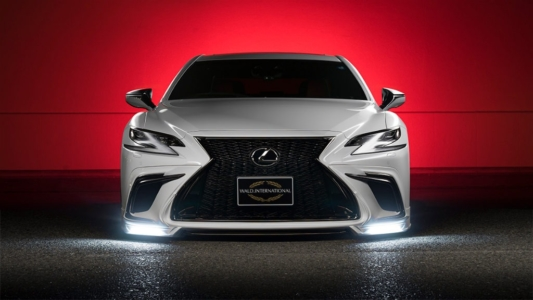 wald executive line lexus ls500 f sport body kit front