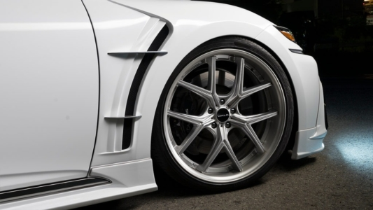wald executive line lexus ls500 f sport body kit front sport fender i12c wheel