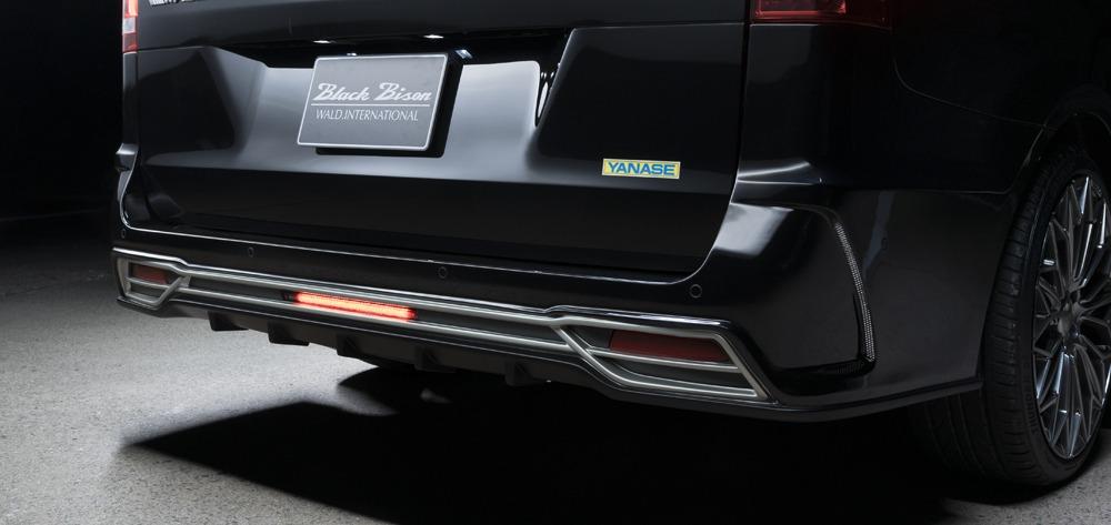 wald mercedes benz mbz v class w447 viano metris wald black bison body kit rear bumper led 2015 2016 2017 2018